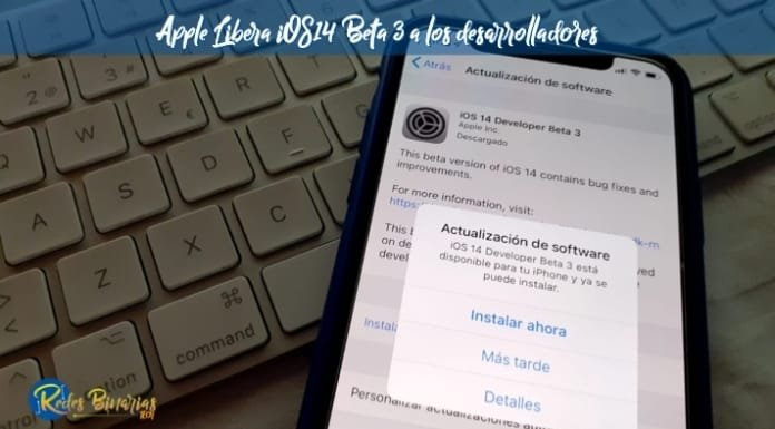 iOS14 Developer Beta 3 Actualización