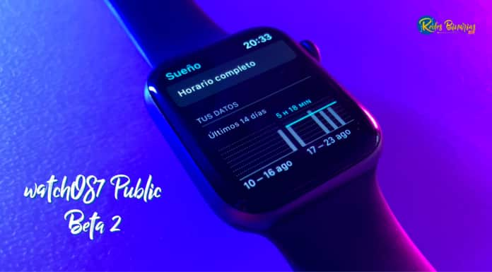 watchOS 7 Public Beta 2