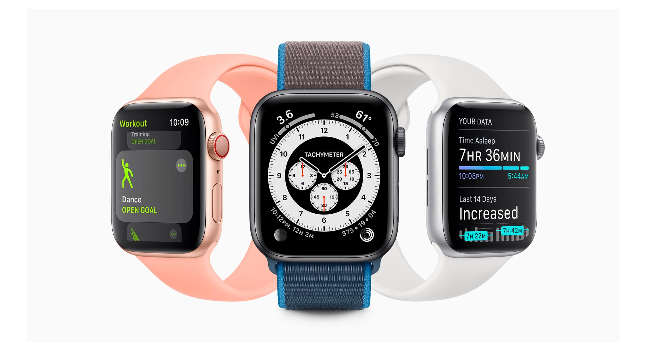 Apple Watch usando watchOS 7