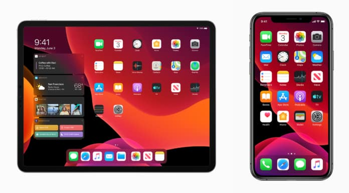 iPhone y iPad con iOS13 modo noche