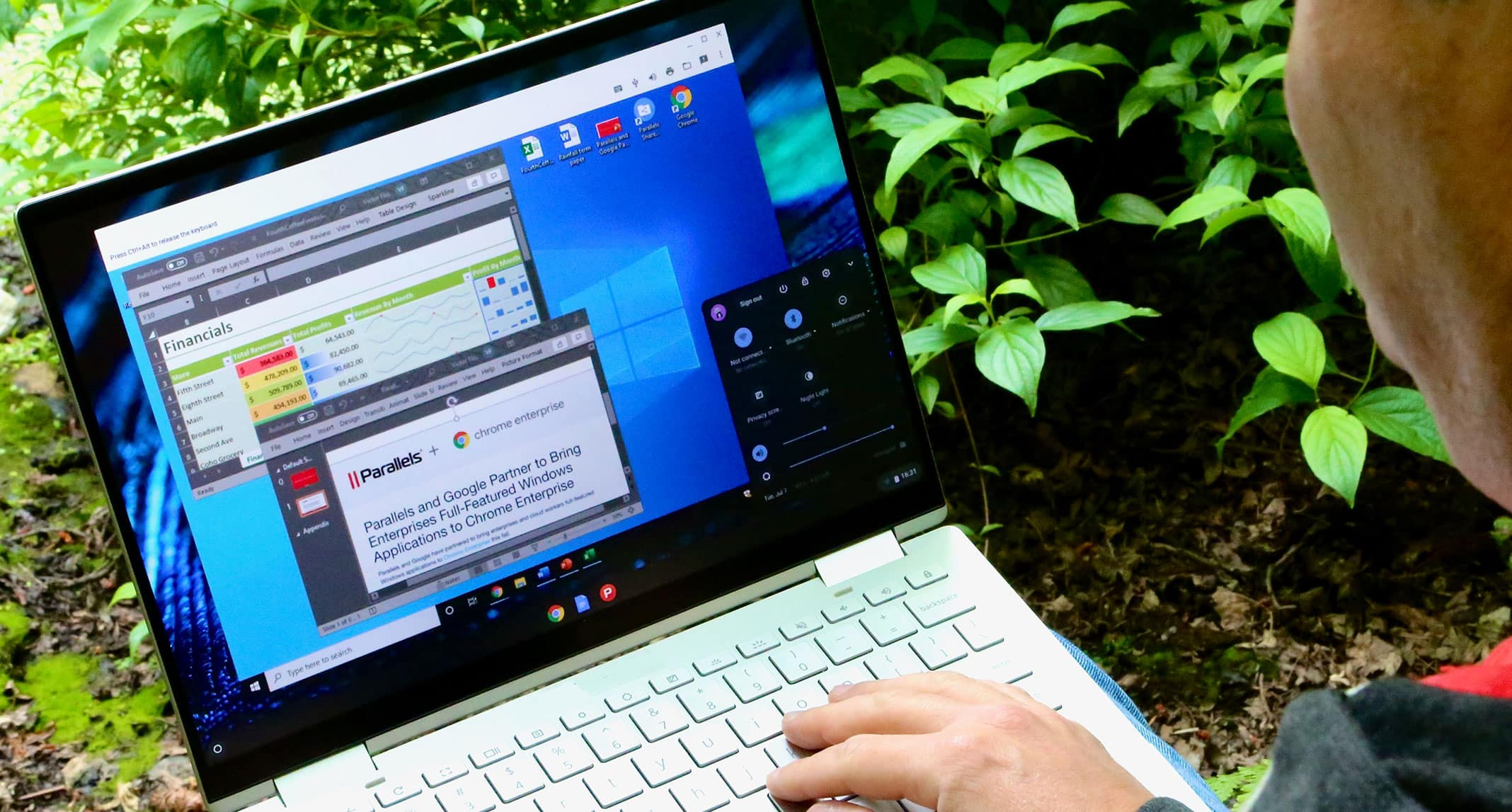 Parallels Desktop para Chromebook Enterprise